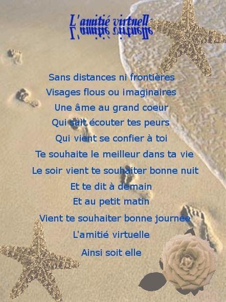"""Résultat de recherche d'images pour """"poeme amitié virtuelle"""""""