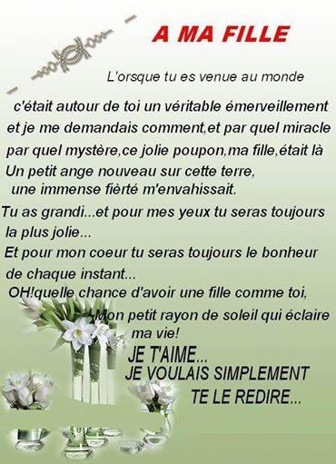 Proverbe Damour Pour Sa Maman Poeme Pour Ma Fille
