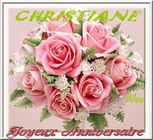 Joyeux Anniversaire Chere Christiane