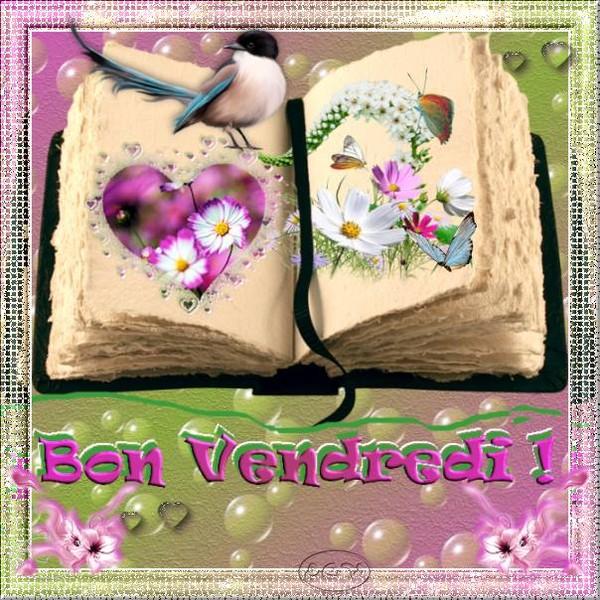 BON VENDREDI/MERCI AUX AUTEURS DE CES BELLES IMAGES