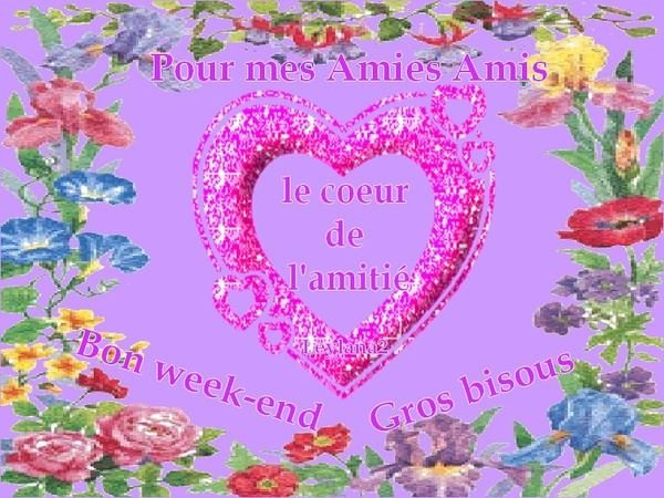 BON WEEK-END ET AMITIES DE DILOU