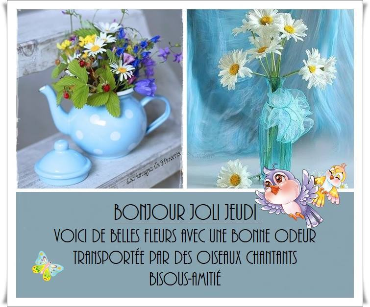 Bonjour Bon Jeudi Bisous De Dilou