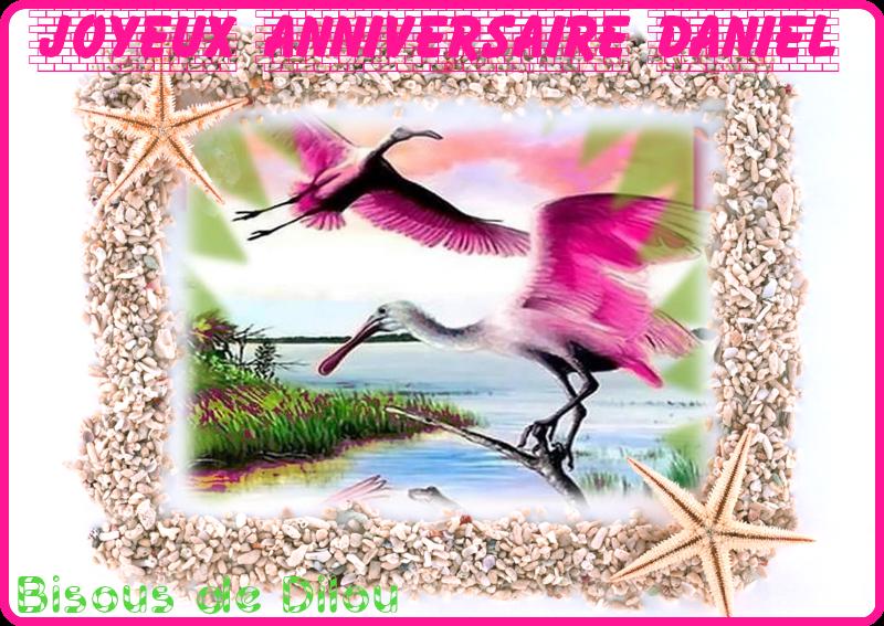 Joyeux Anniversaire Daniel Pourleplaisir Bisous